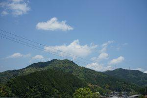 長谷寺の山々