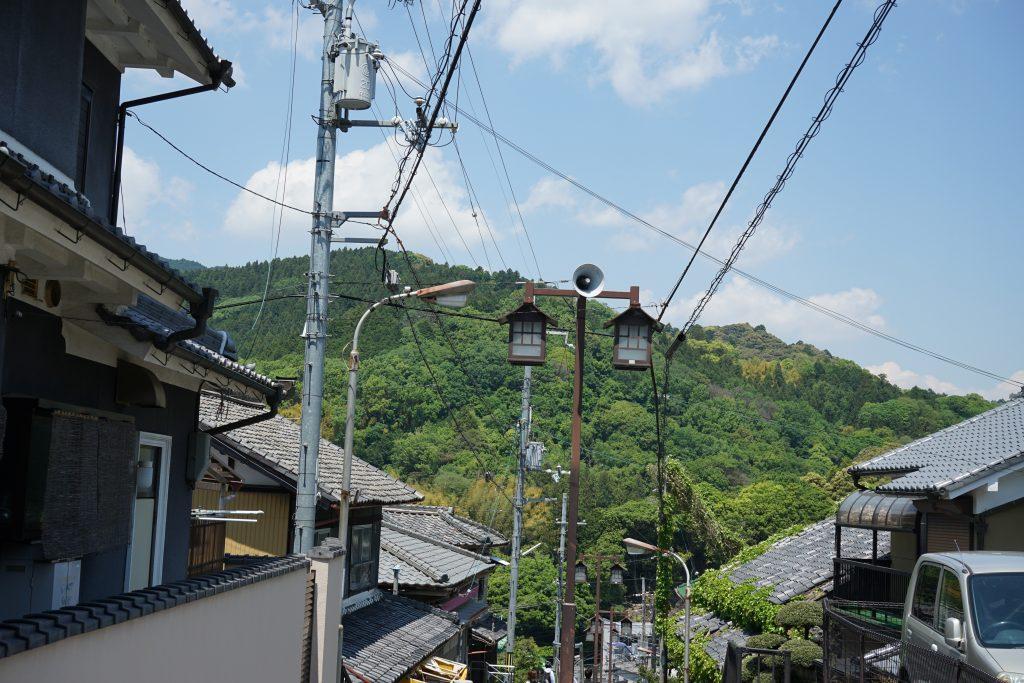 長谷寺駅の階段