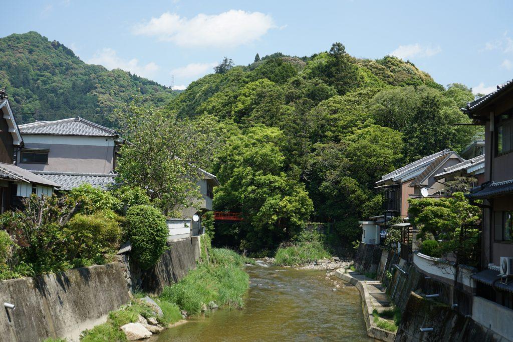 長谷大橋から長谷山口坐神社の橋方面2