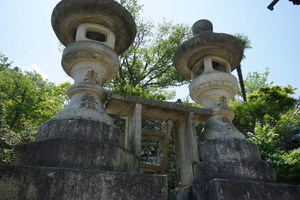 長谷寺石篭