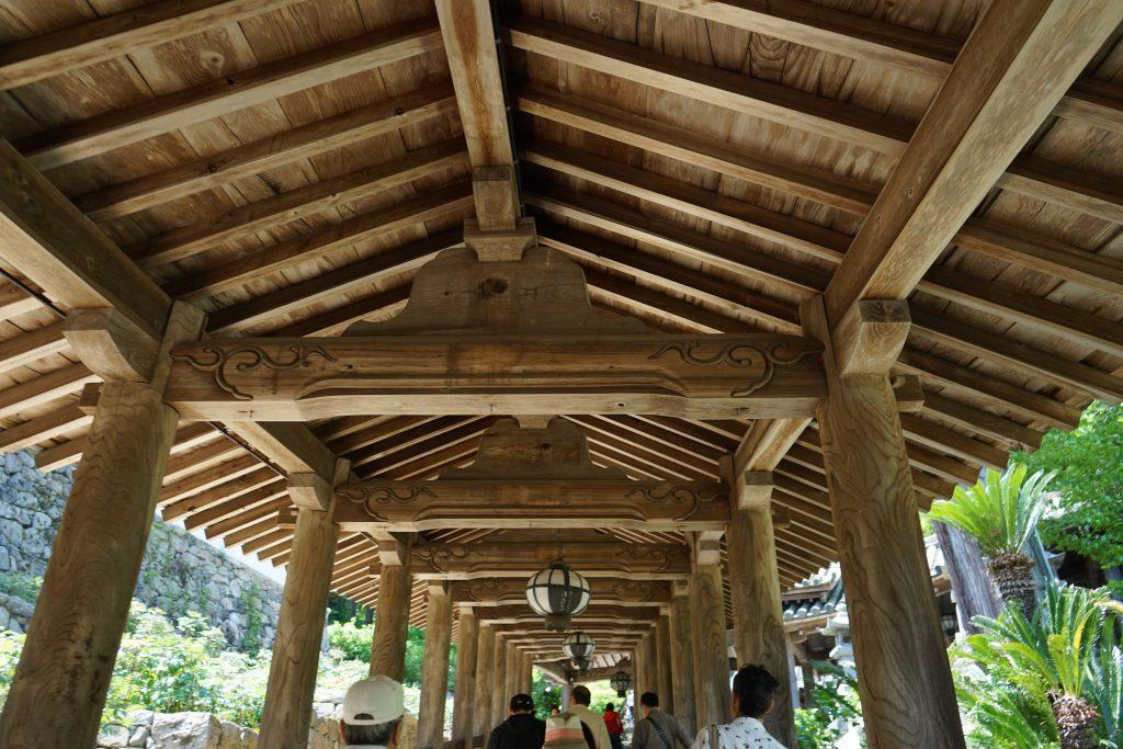 長谷寺の登廊1