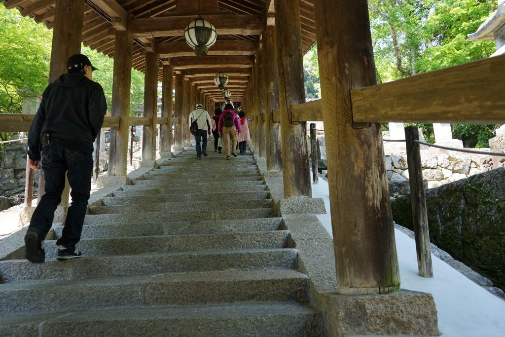 長谷寺の登廊2