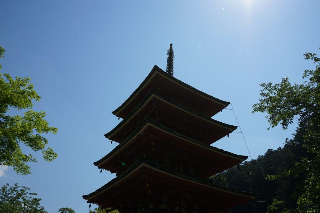長谷寺五重塔1