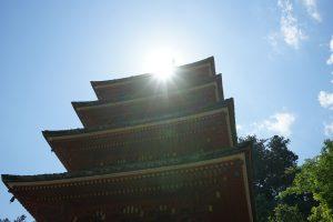 長谷寺五重塔2