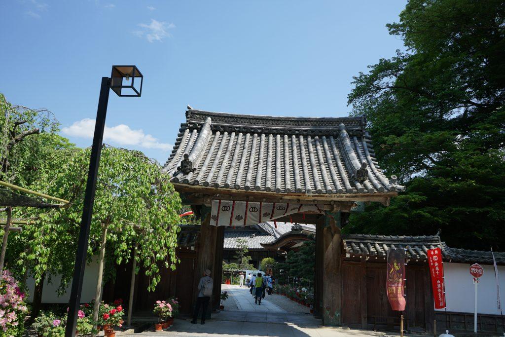長谷寺本坊の門