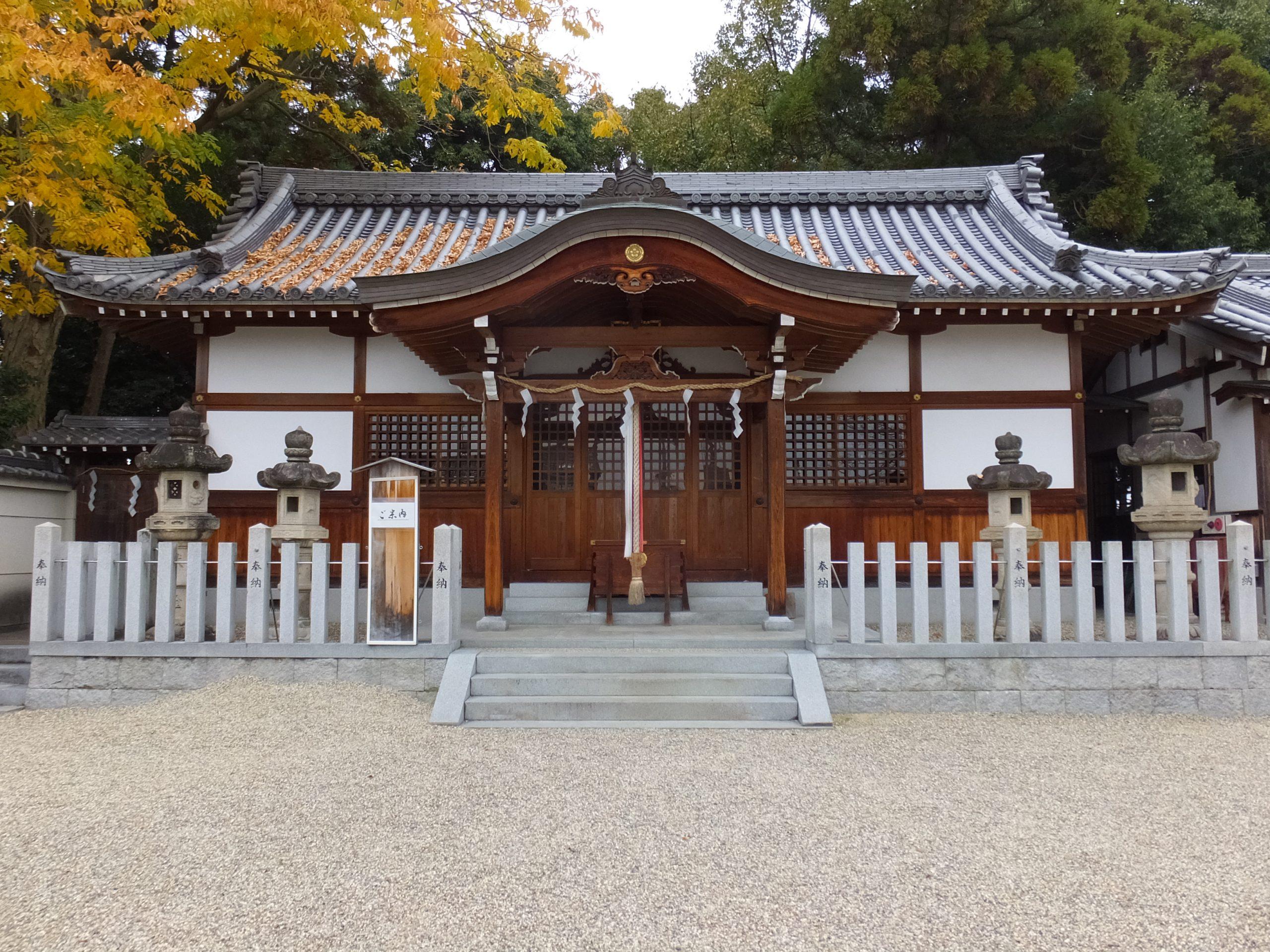 大坂山口神社本殿