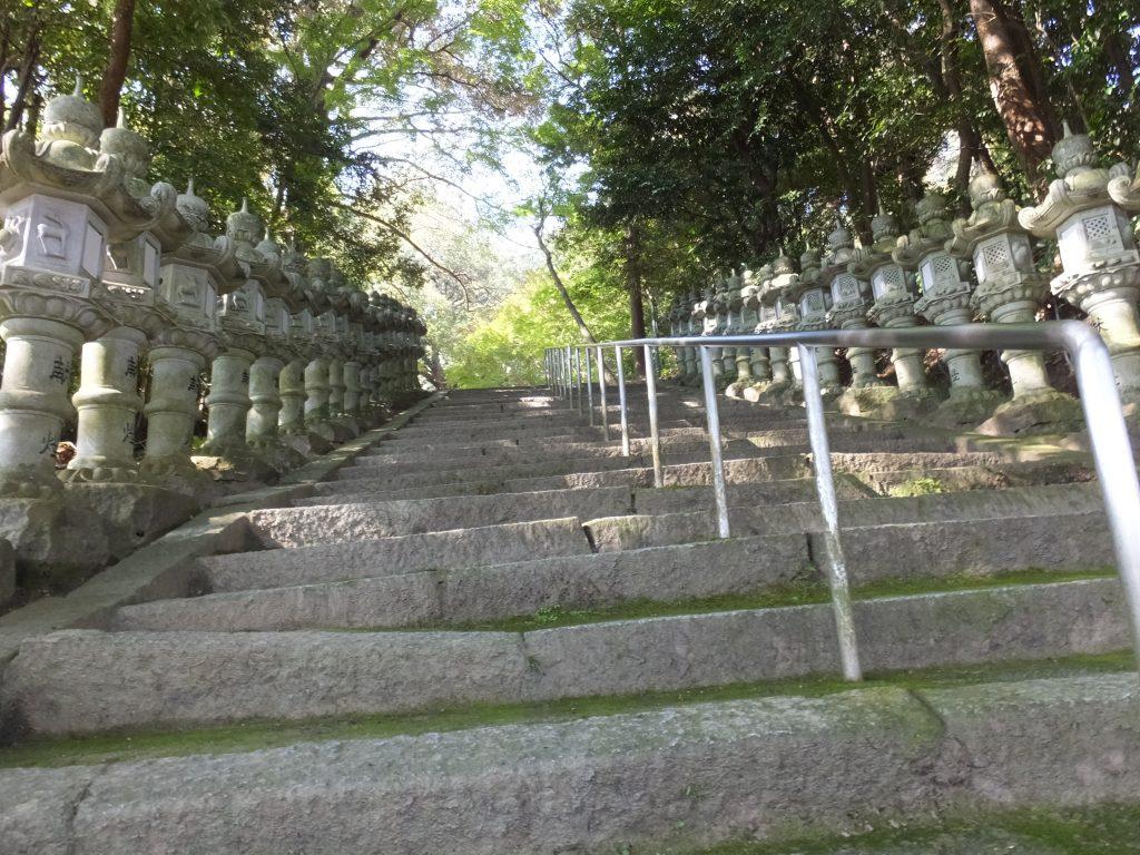 笛吹神社石段