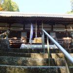 笛吹神社石段からの本殿