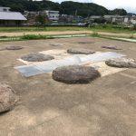 尼寺廃寺礎石