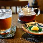 お茶と琥珀糖