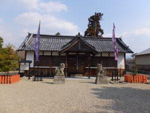 入鹿神社本殿