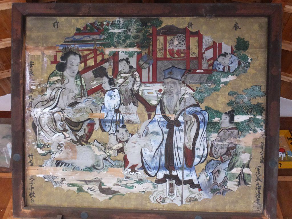 長尾神社寄進絵馬