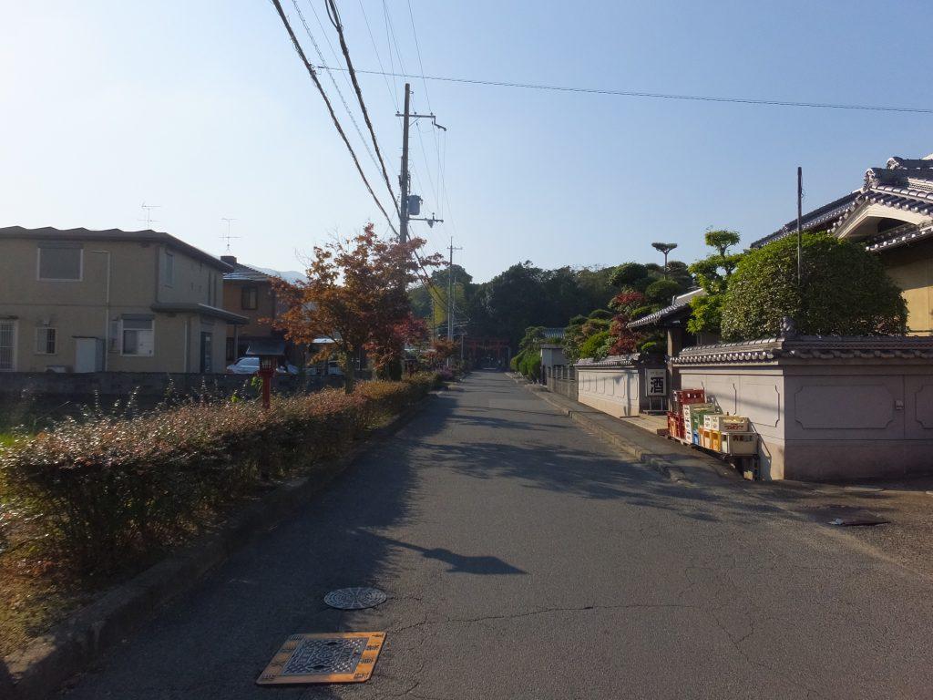 長尾神社参道