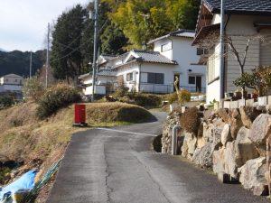 二上山へ続く道1