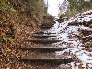 二上山雄岳登山道2