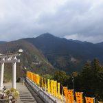 丹生川上神社上社からの風景