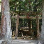 室生龍穴神社入り口付近