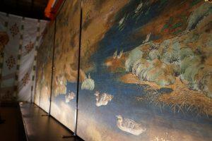 江戸時代の狩野派が描いた談山神社襖絵