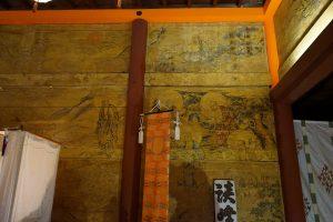 江戸時代の談山神社壁絵2